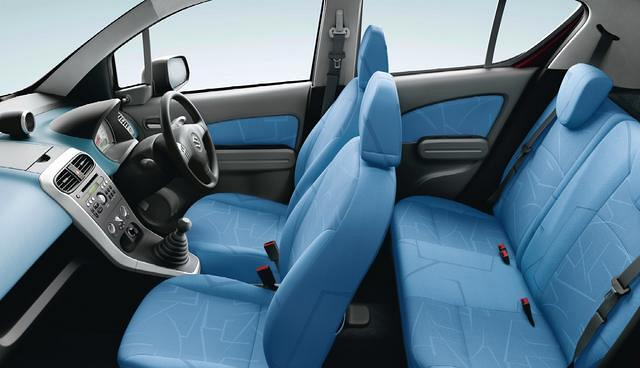 Maruti Suzuki Ritz interior seating arrangement