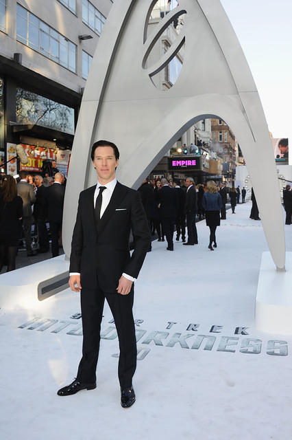 Benedict Cumberbatch attends the UK Premiere of Star Trek Into Darkness at The Empire Cinema