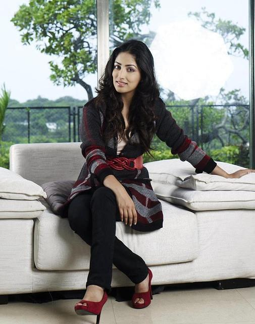 Yami Gautam at Home Photo Shoot