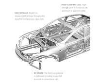 Tesla Model S ALUMINUM Body Structure