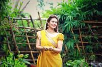 Divyanka looking stunning in her haldi and mehandi function