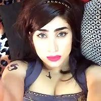 Qandeel Baloch reaches Zaman Park to meet Imran Khan
