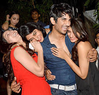 Sushant Singh Rajput ankita lokhande enjoying party with friends after their breakup